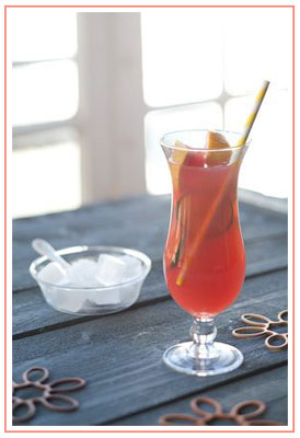 mardi gras cocktail