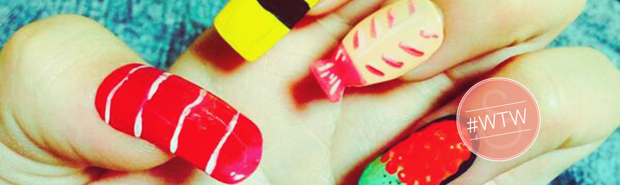 Wacky Trend Wednesday: Sushi Nails