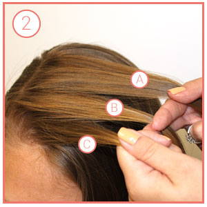 bohemian-fishtail-braids-step-2