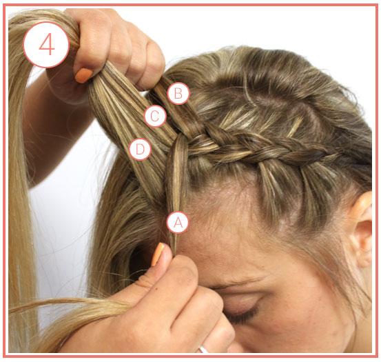 bohemian-crown-braids-step-4