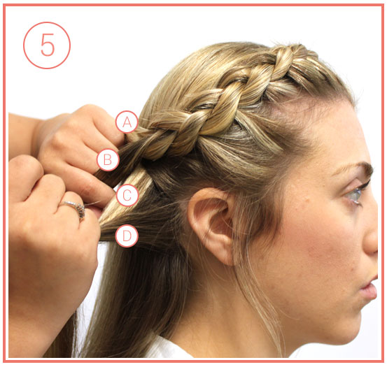 bohemian-crown-braids-step-5