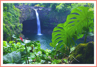 hawaii-rainbow-falls