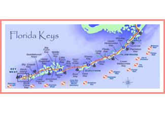 Miami, Southwest Florida, and Keys Day Trips 100 Miles or Less |Florida Map Mileage