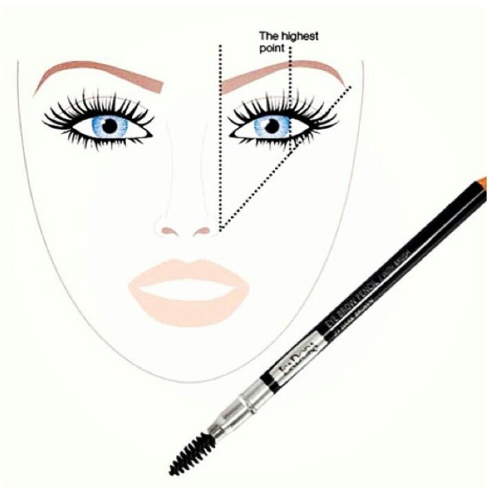 eyebrow-shape-technique