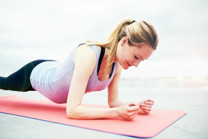 elbow planking