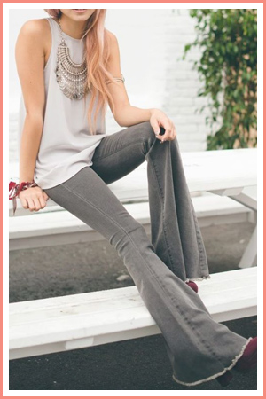 bell-bottoms-flare-jeans-summer-outfit