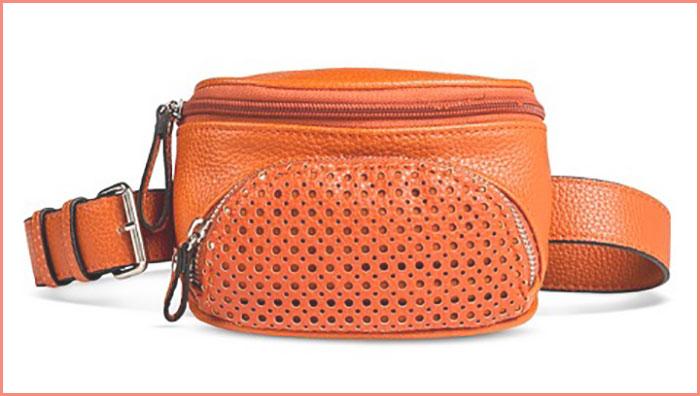 Orange Target fanny pack