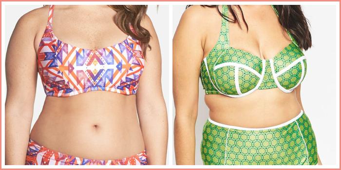 Plus Size Swimsuit: Nordstrom vs. ASOS