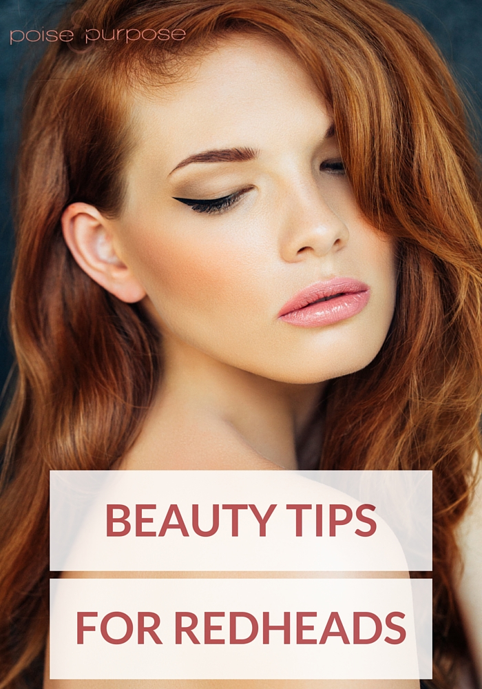 Poise Makeup Professional: Beauty Tips For Redheads