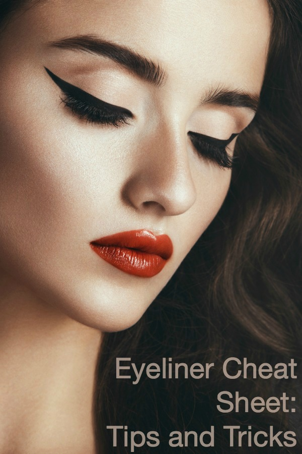 Eyeliner Cheat Sheet Tips and Tricks