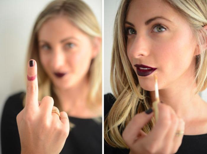 Lipstick Trick