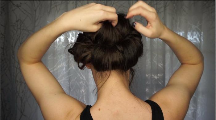 loosen hair
