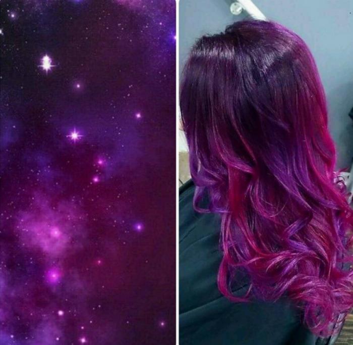 stevenaustinhairartist Galaxy Hair