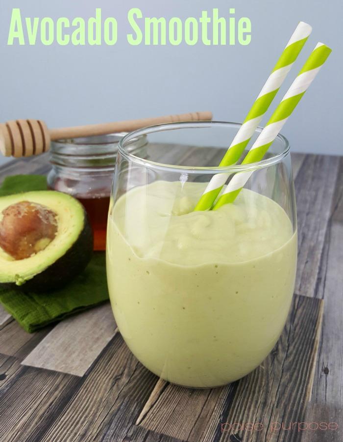 Healthy and delicious Avocado Smoothie