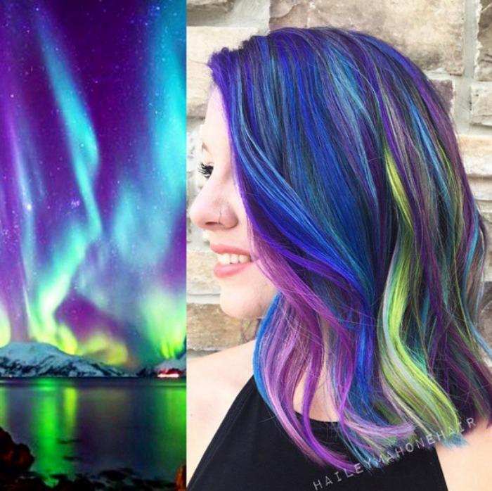 haileymahonehair Galaxy Hair