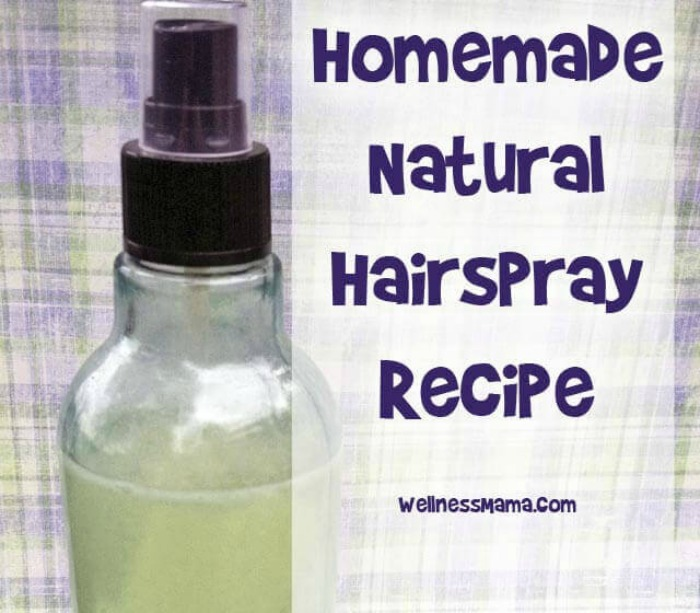 Natural Hairspray