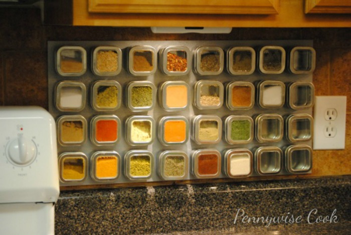 Pennywise Cook DIY Magnetic Spice Rack