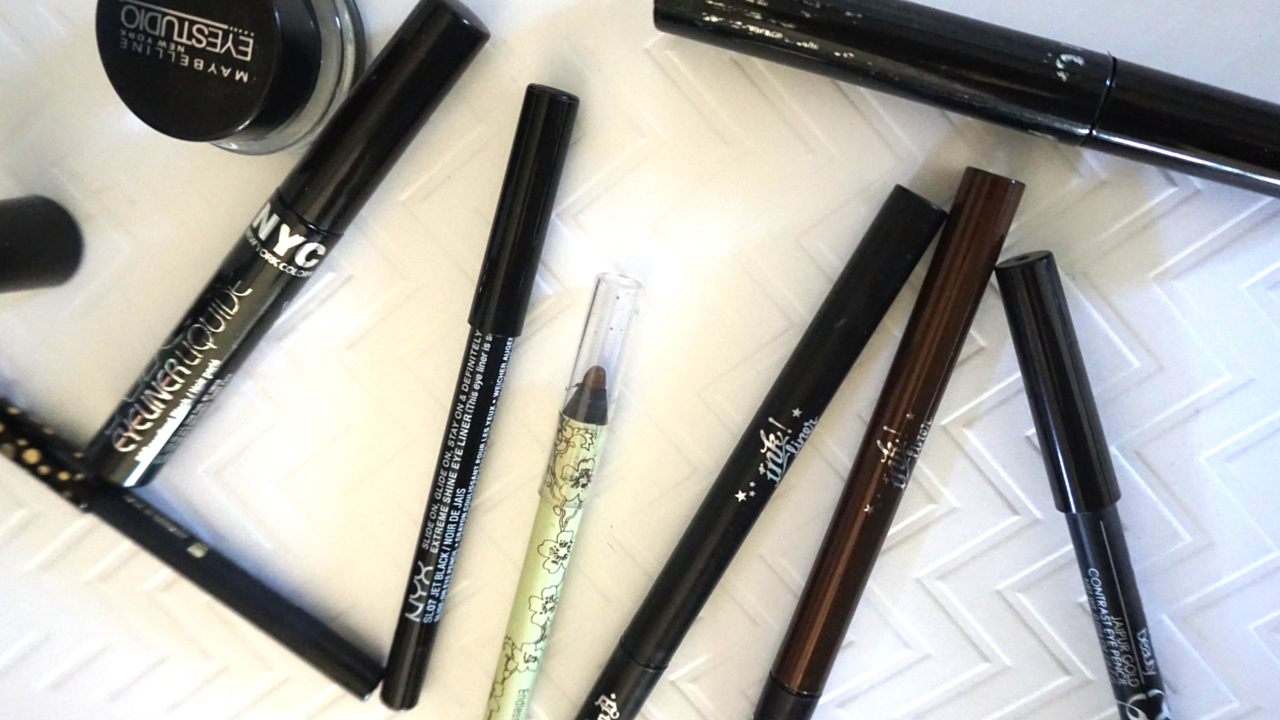 Drugstore Faves: Eyeliners