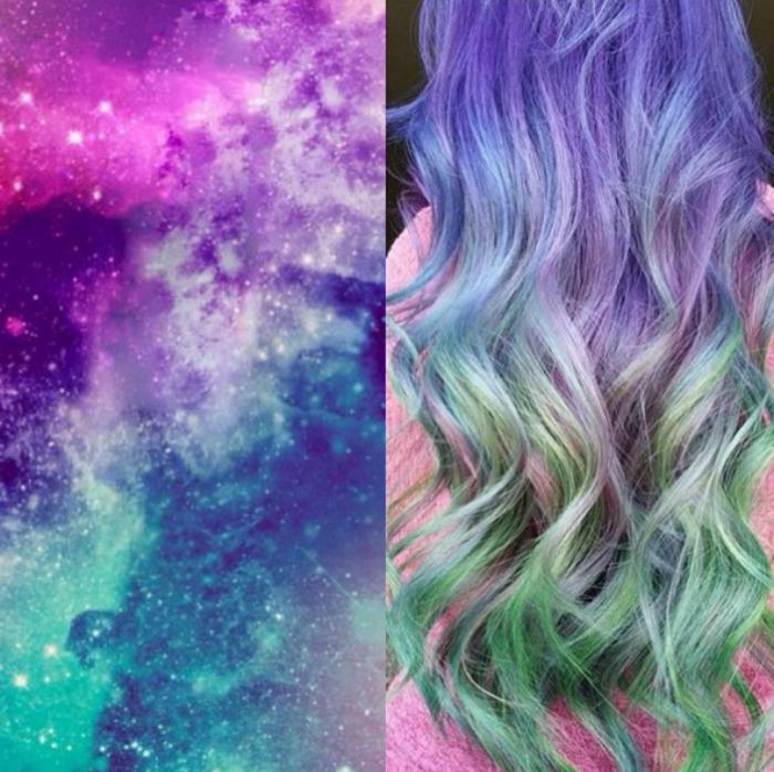 beautybyrandee Galaxy Hair