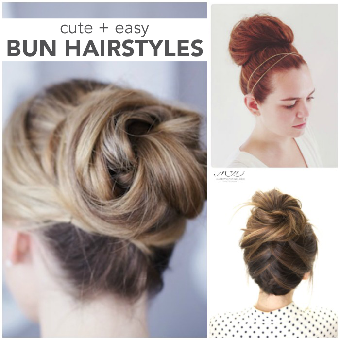 Cute Girl Hairstyles Youtube: 17 Best Bun Hairstyles
