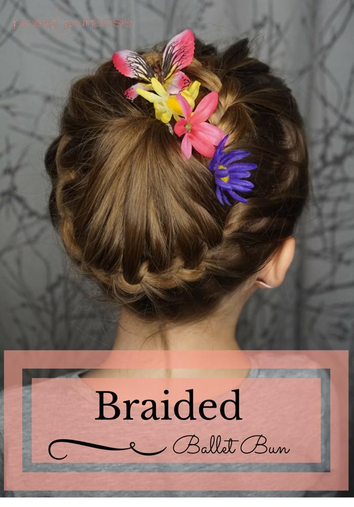 braided ballet bun