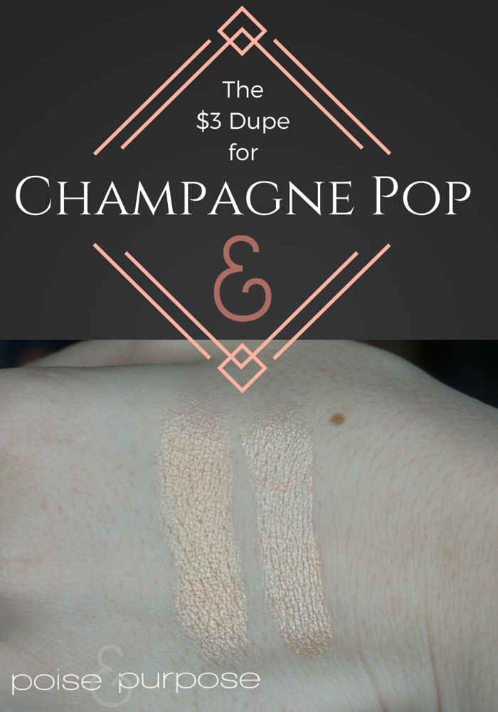 champagne pop dupe