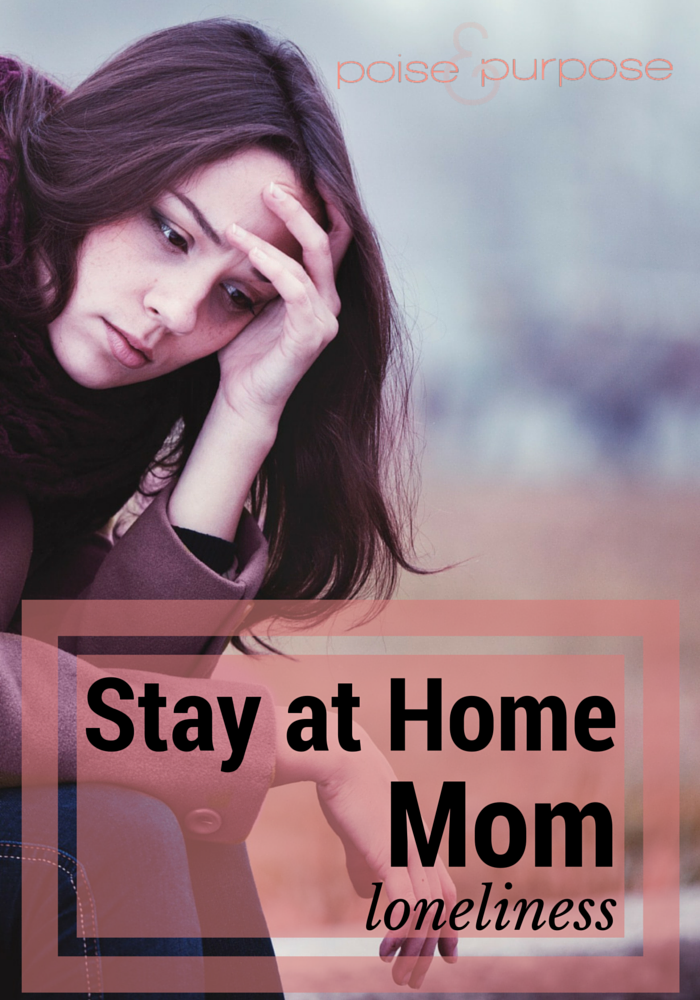 stay at home mom loneliness