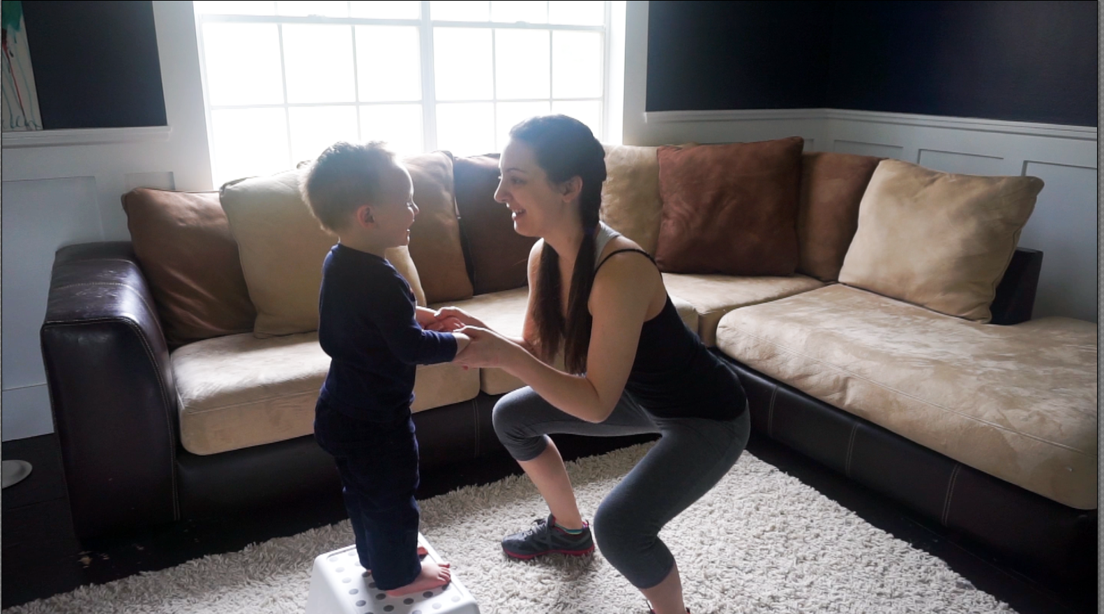 Quick and Easy Mommy and Me Workout