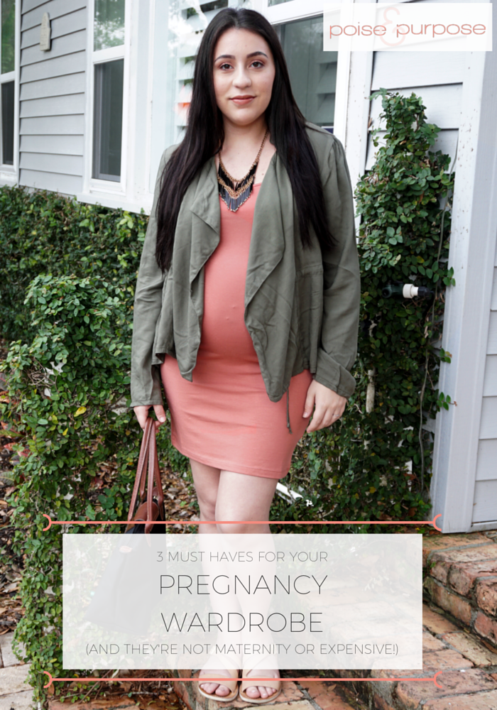 3 Must Haves For Your Pregnancy Wardrobe (and They're Not Maternity or Expensive!)