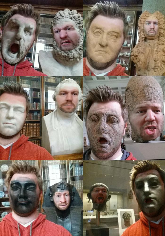 funny museum Faceswap