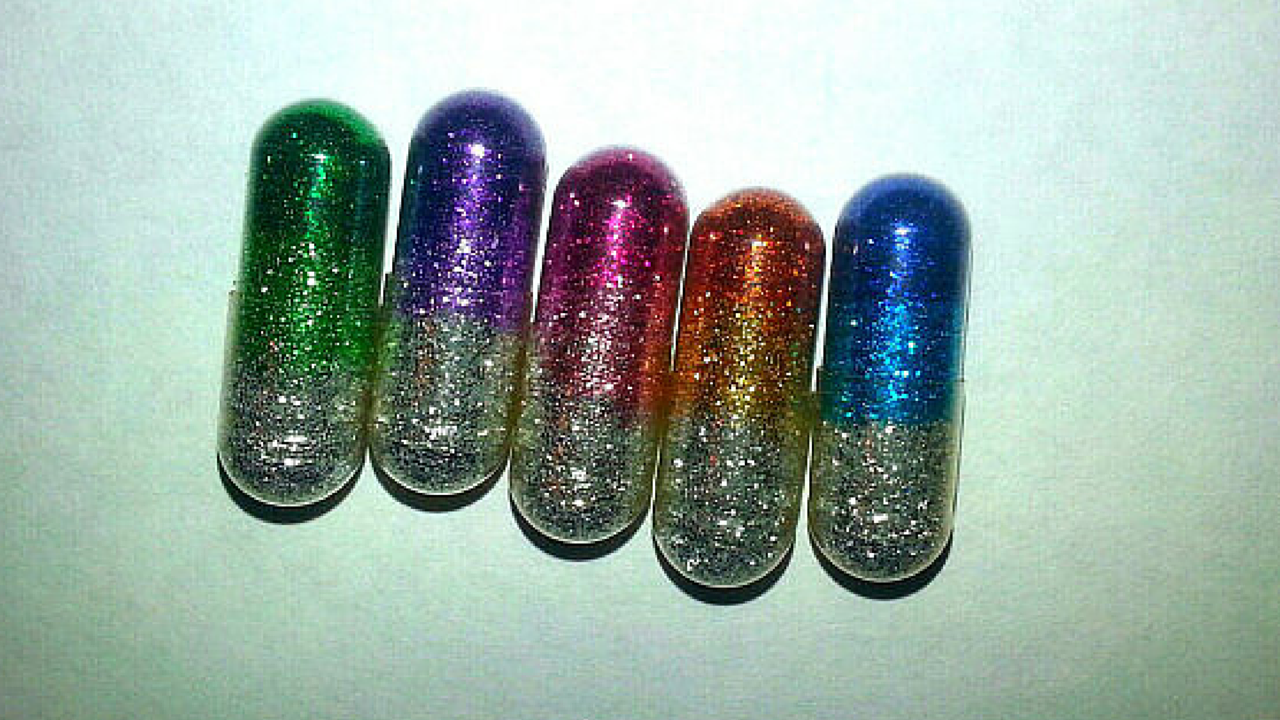 People Are Taking Glitter Pills. I'll Let You Guess Why.