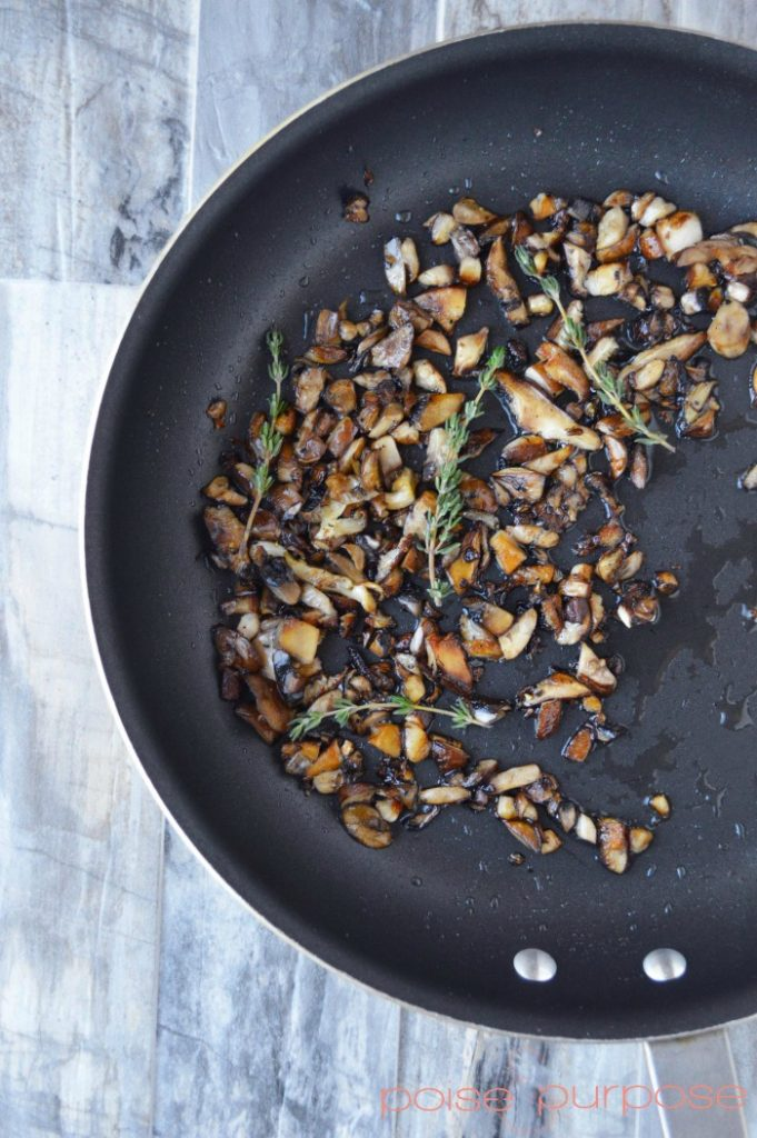 Mushroom Risotto Step2