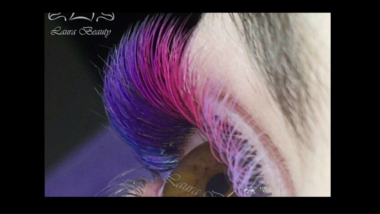 Rainbow Hair. Rainbow Highlighters. Now Rainbow Eyelashes?