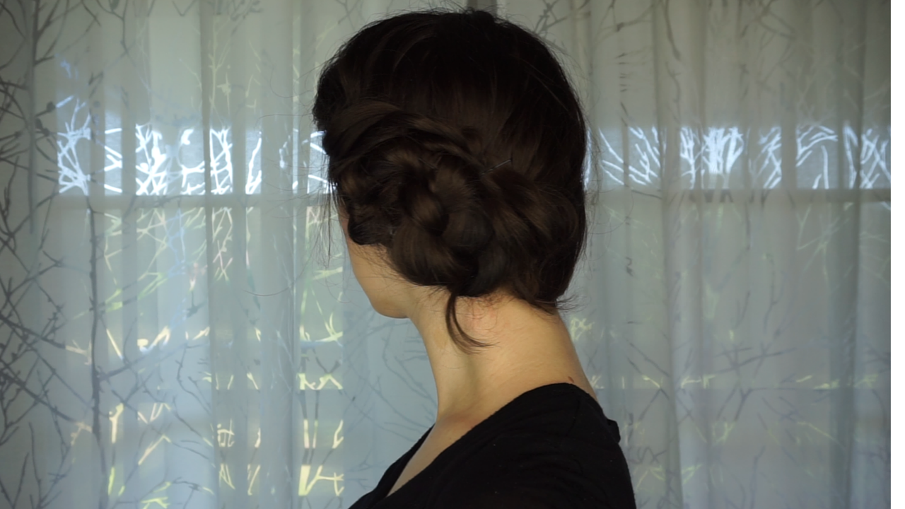 Easy Side Chignon