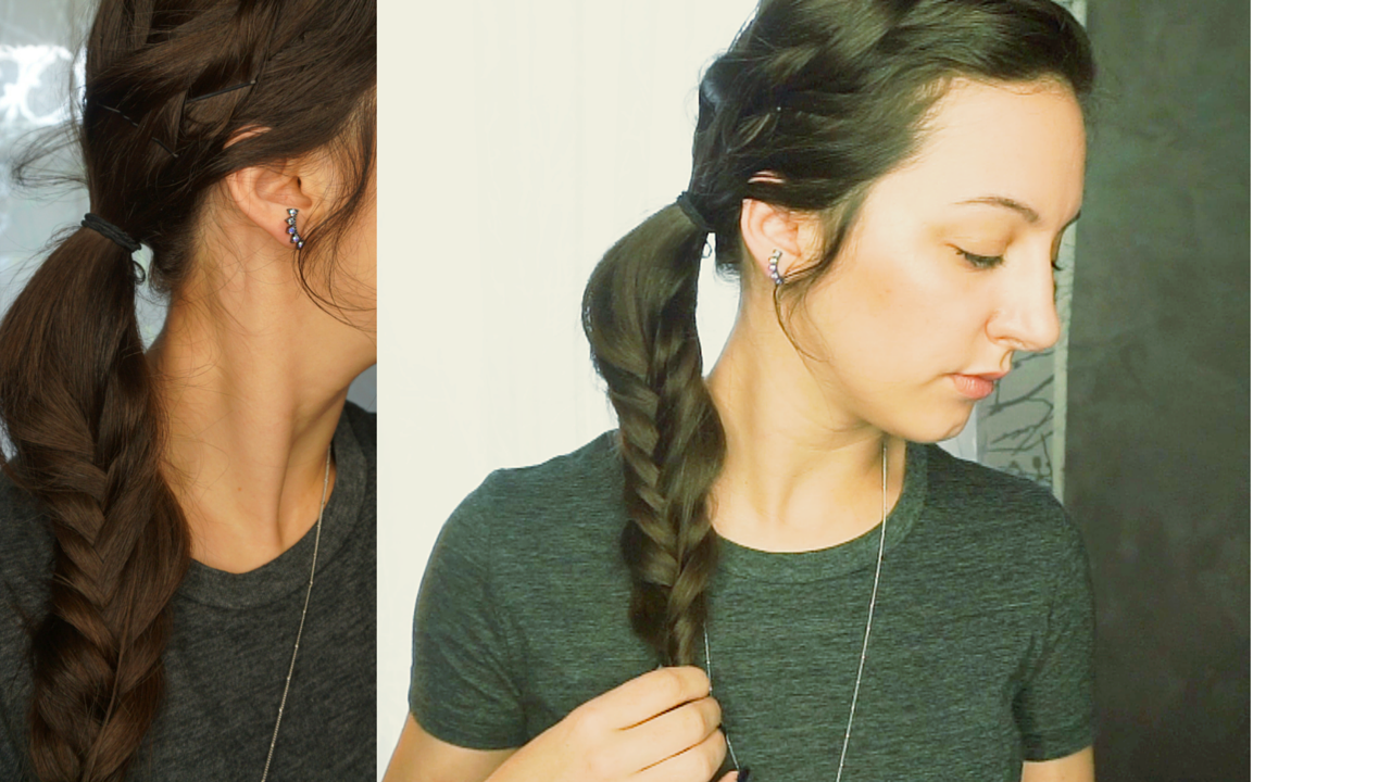 Messy Mixed Braids