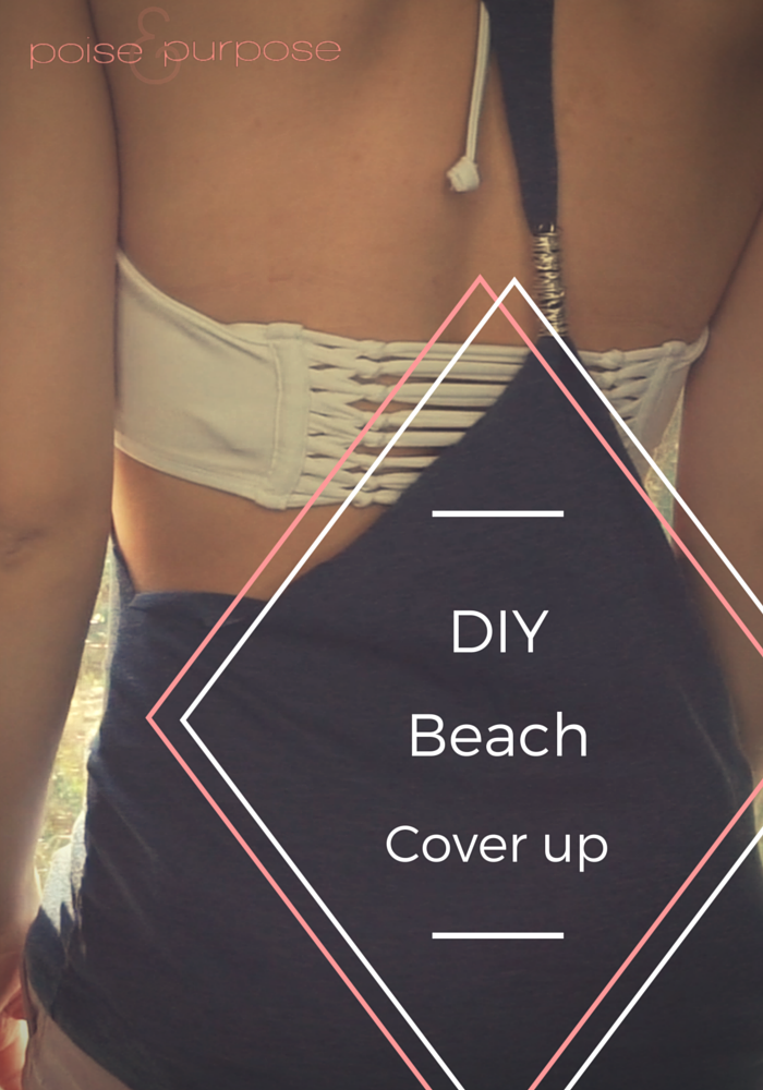 diy beack cover up