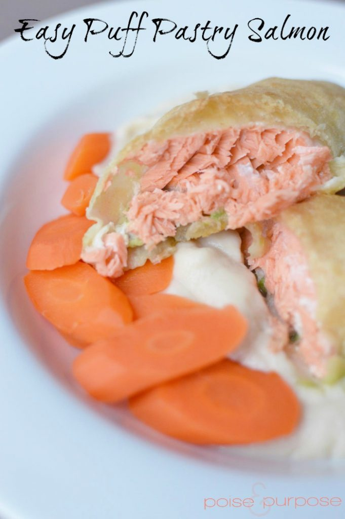 Easy Puff Pastry Salmon