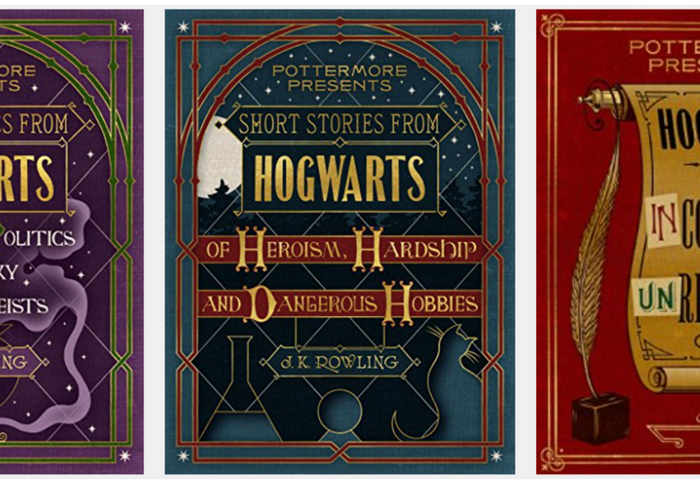 new harry potter books!