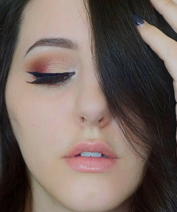 Warm Oranges and Pink with the ABH Modern Renaissance Palette